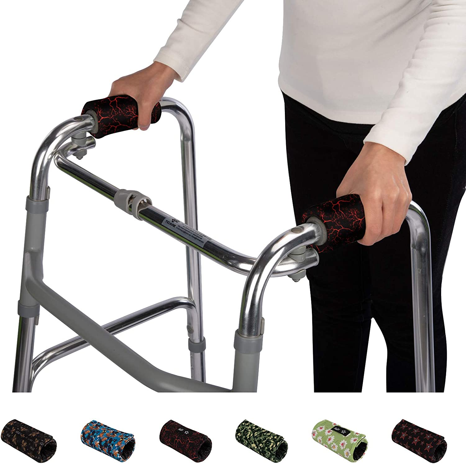 Oakland Mall Walker Hand Grips Padded Wheelchair Folding Albuquerque Mall Covers Rolling