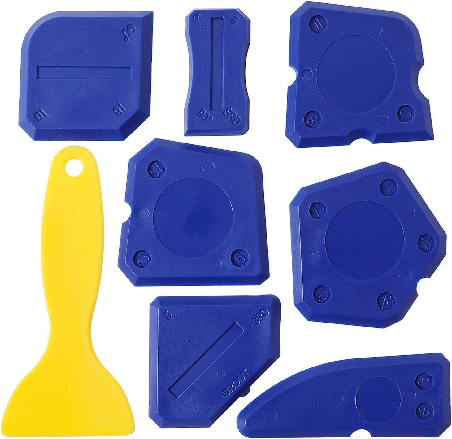 8 Pieces Cheap bargain Caulk Tool Kit Tools Regular store Caulkin Finishing Sealant Silicone