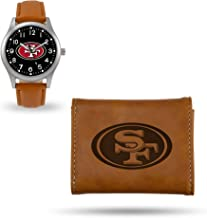 Rico Industries San Francisco Sparo Brown Watch and Wallet Set