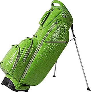 OUUL Alligator 5 Way Stand Bag, Lemon Green