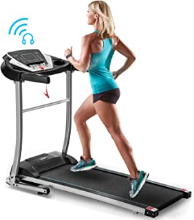 Merax Treadmill Folding Treadmill Motorized Running Machine Walking Jogging Machine Home Treadmill for Home Gym Use, 240LBS Weight Capacity