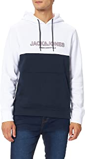 Jack & Jones Jjeurban Blocking Sweat Hood Noos Sudadera con Capucha para Hombre