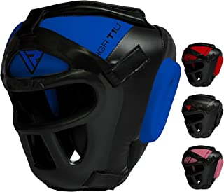 RDX Headguard for Boxing, MMA Training - Head Guard with Removable Face Grill, Cheeks, Ear, Mouth Protection-Headgear for ...