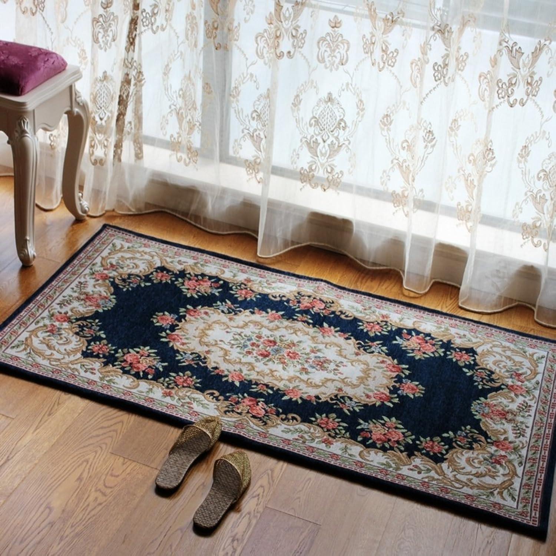 Bedroom blanket for bedroom  The Hall mat Bay window living room balcony floor mats Continental door mats-H 70x140cm(28x55inch)
