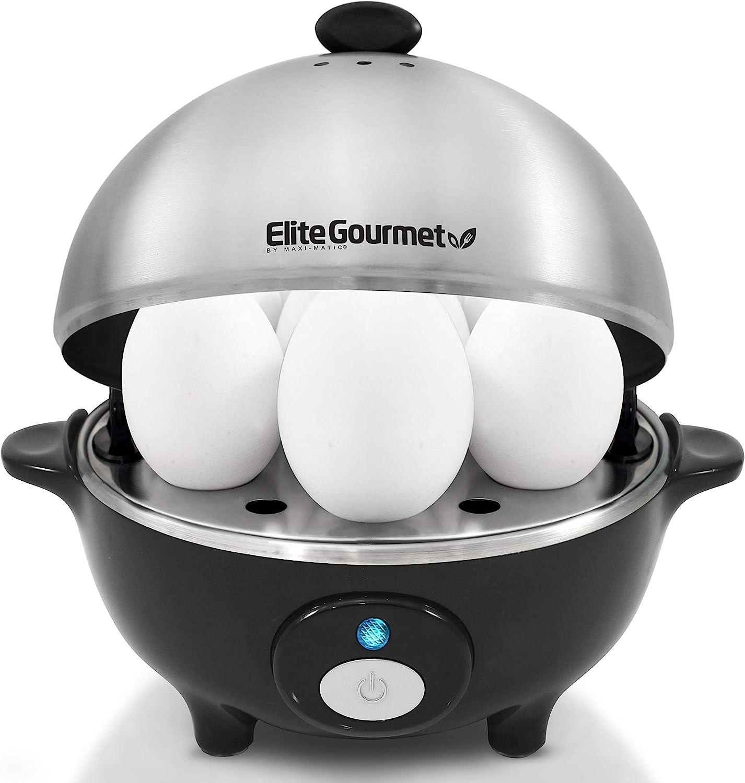Elite Gourmet EGC-508 Easy Electric Egg Many popular brands Capacity In stock Cooker 7 Poach