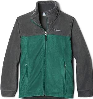 Boys Steens Mt II Fleece Jacket, pine green/grill, X-Small