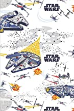 """Star Wars: Blank lined notebook, Journal Or a Diary To Write Down Ideas, Follow up, projects for women, men & children have Durable 6"""" x 9"""" inches 120 pages (lined notebook)"""
