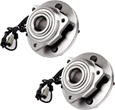 ECCPP Pair of 2 New Complete Front Wheel Hub Bearing Assembly 5 Lugs w/ABS for 2005-2009 Jeep 513234×2