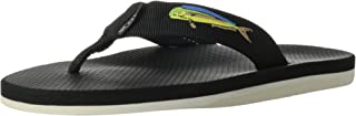 Scott Hawaii Men's Hokulea Sandals | Waterproof White Non-Marking No-Slip Boat Shoes | Guarantee All Day Arch Support Comfortable Slipper | Reef Walking Flip Flops for Men