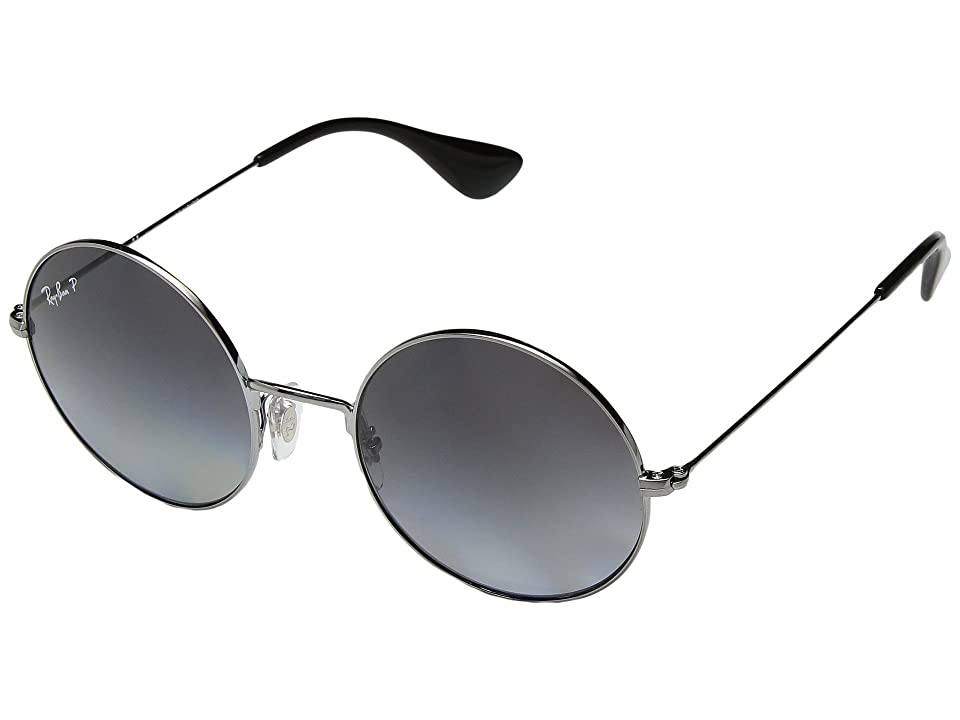 Ray-Ban RB3592 JA-JO 50mm (Gunmetal/Polarized Grey Gradient) Fashion Sunglasses