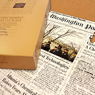 Washington Post Historical Front Page Jigsaw Puzzle