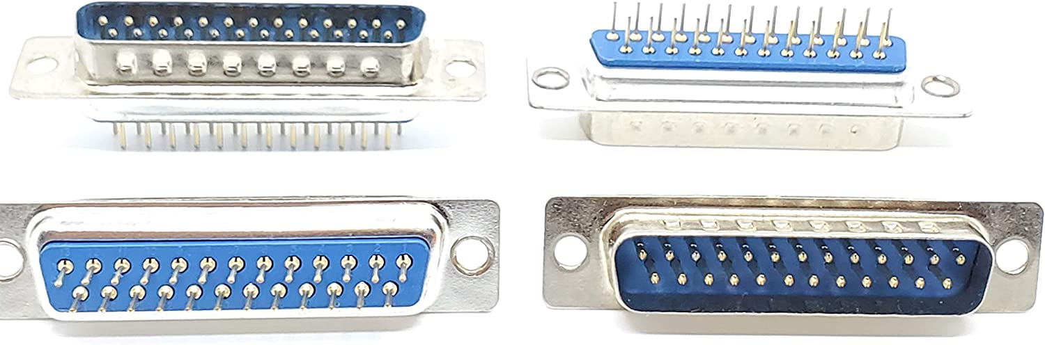 Pc Accessories - Connectors Pro Philadelphia Mall 10-Pack Louisville-Jefferson County Mall M DIP Pins DB25 Straight