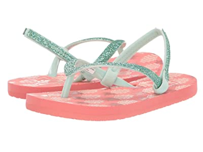 Reef Kids Little Stargazer Prints (Infant/Toddler/Little Kid/Big Kid) (Pineapple) Girls Shoes