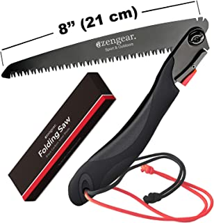 Folding Hand Saw for Wood, Bones, Tree Branches, Pruning - Camping, Garden, Outdoors, Bushcraft