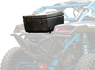 SuperATV Heavy Duty Rear Insulated Cooler/Cargo Box for Can-Am Maverick X3 (2017+) - Sealed Lid Keeps Ice In & Mud Out!