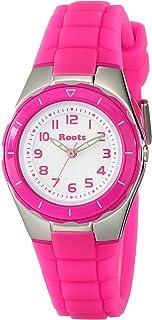 Roots Women's 1R-AT425FU1F Saturna Pink Plastic Watch