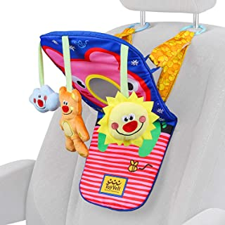 ToyVelt Car Seat Toys for Infants - Kick and Play Fun Hanging Rear Carseat Toy Super Soft, Safe with Music - Your Little O...