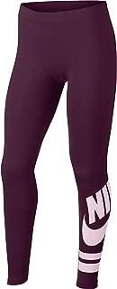 Nike Kid's G NSW LGGNG FAVORITE GX3 Pants, Bordeaux/Pink Foam, X-Large