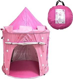 Nifogo Tente de lit pliable pour enfants, tente de jeu magique, motif licorne et flocon de neige, tente de décoration de f...