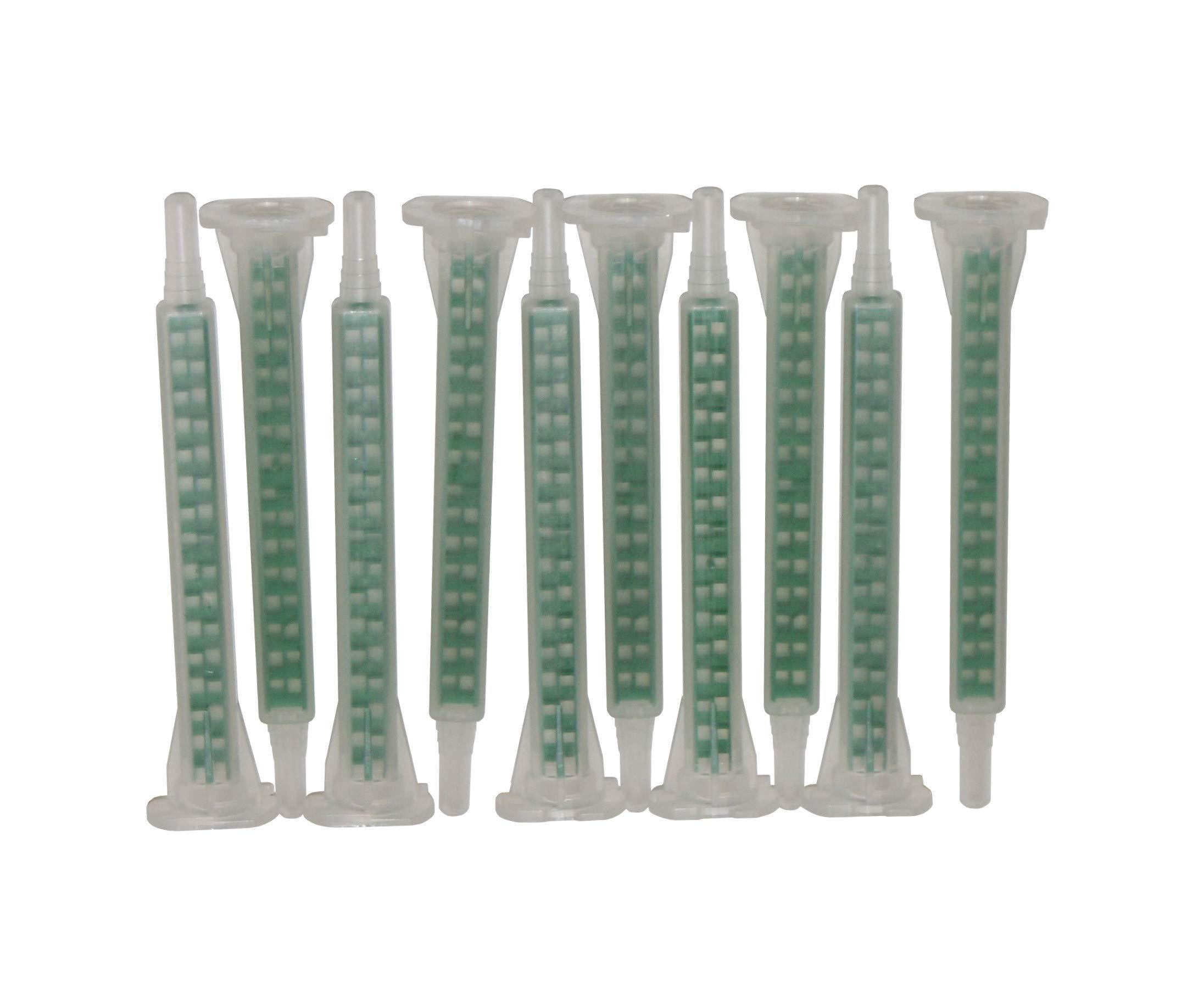 Sanremo - Juego de mesa 10 boquillas mezcladoras para cartuchos de 50 ml de 2 componentes – mezclador estático – Quadro: Amazon.es: Coche y moto