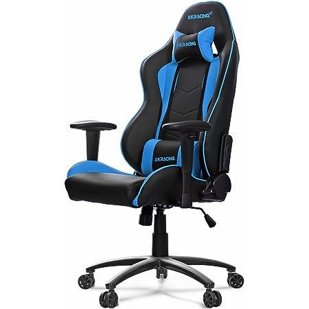 AKRACING エーケーレーシング デスクチェア ゲーミングチェア NITRO-BLUE 青色