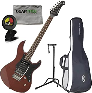 Yamaha PAC611VFMX MRTB Limited Edition Electric Guitar (Matte Root Beer) w/Bag,