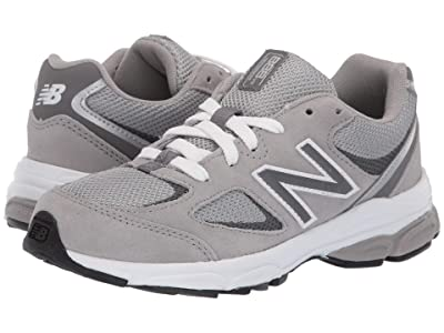 New Balance Kids PK888v2 (Little Kid) (Grey/Grey) Boys Shoes