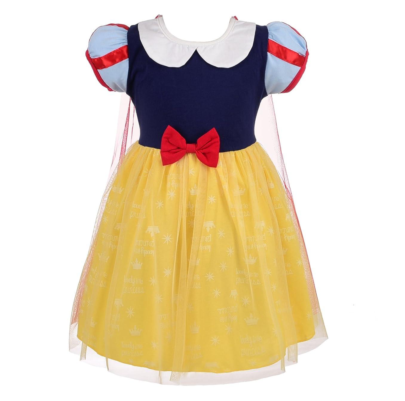 Dressy Daisy Baby Toddler Princess Snow White Anna Elsa Sofia Alice Mermaid Dress
