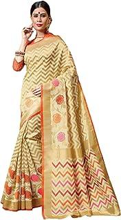 بلوزة نسائية بيضاء هندية عصرية تقليدية مناسبة للارتداء باليد مصنوعة من القطن الساري 5792