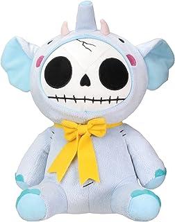 SUMMIT BY WHITE MOUNTAIN Elefun Elephant Furry Bones Soft Plush Doll