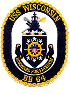 uss wisconsin patch