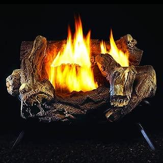 ProCom WZL30MVA Fireplace Log Set, Black