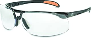 UVEX by Honeywell S2621XP Uvex Livewire Sealed Safety Eyewear with Silver Frame Gray Lens Tint UV Extreme  and Anti-Fog Lens Coating