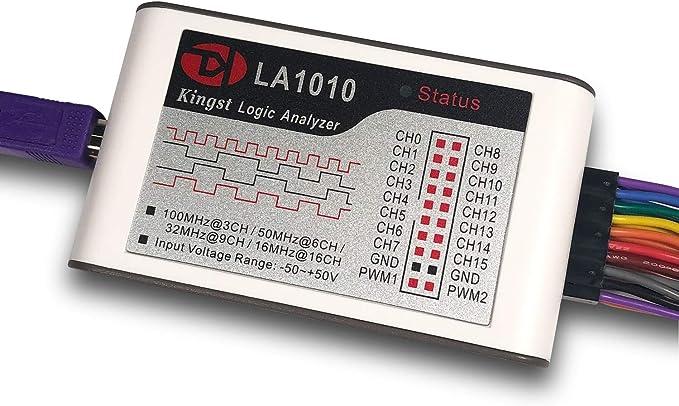 166 opinioni per InnoMaker LA1010 USB Logic Analyzer 16 Input Channels 100MHz with The PC