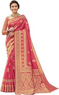 بلوزة ساري من القطن الهندي مع أحدث صيحات الموضة من Banarasi من Pallu 5764