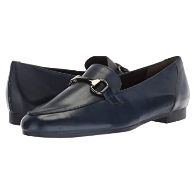Paul Green Tosi Flat (Navy Leather) Women