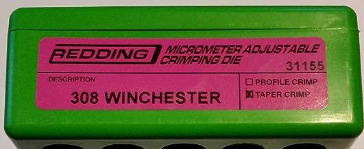 Redding Micro-Adjustable Taper Crimp Die 308 Winchester