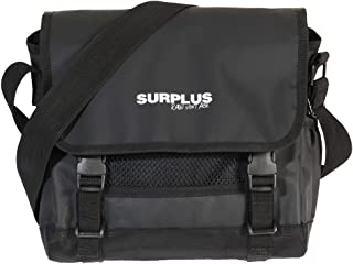 Surplus Raw Vintage-Messenger Bag S-Black-OSO