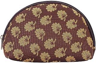 Signare Tapestry Cosmetic Makeup Toiletry Bag Case in Jane Austen Design, Jane Austen's Oak (Brown) - 5060376429886