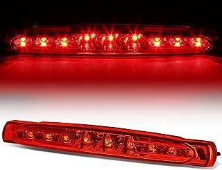 For Chevy Corvette C5 Rear High Mount LED 3rd Tail Brake Light (Red Lens)