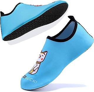 Escarpines Deportes acuáticos Zapatos de Agua Unisex-Niños
