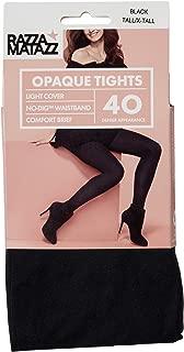 Razzamatazz Women's Pantyhose 40 Denier Comfort Brief Opaque Tights