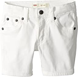 Levi's® Kids - 511 Slim Fit Soft Brushed Twill Shorts (Toddler)