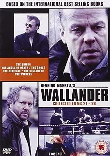 Wallander (Films 21-26) - 3-DVD Set ( Skytten / Dödsängeln / Vålnaden / Arvet / Indrivaren / Vittnet ) ( The Sniper / The Angel of Death / The Gh [ NON-USA FORMAT, PAL, Reg.0 Import - United Kingdom ]