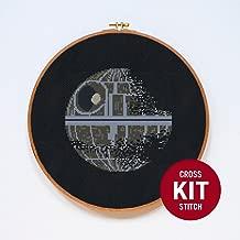 Death Star II Star Wars Cross Stitch Kit by Stitchering