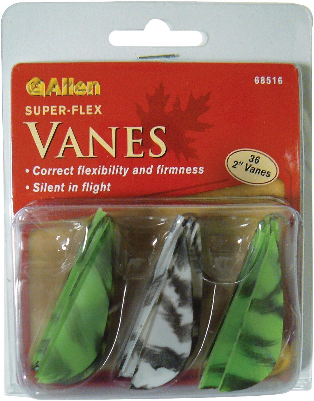 Allen Company Pro Series Vanes, Camo Pack of 36