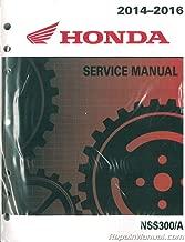 2014 2015 Honda NSS300//A NSS300A Forza Parts Catalog Manual New Factory OEM Book