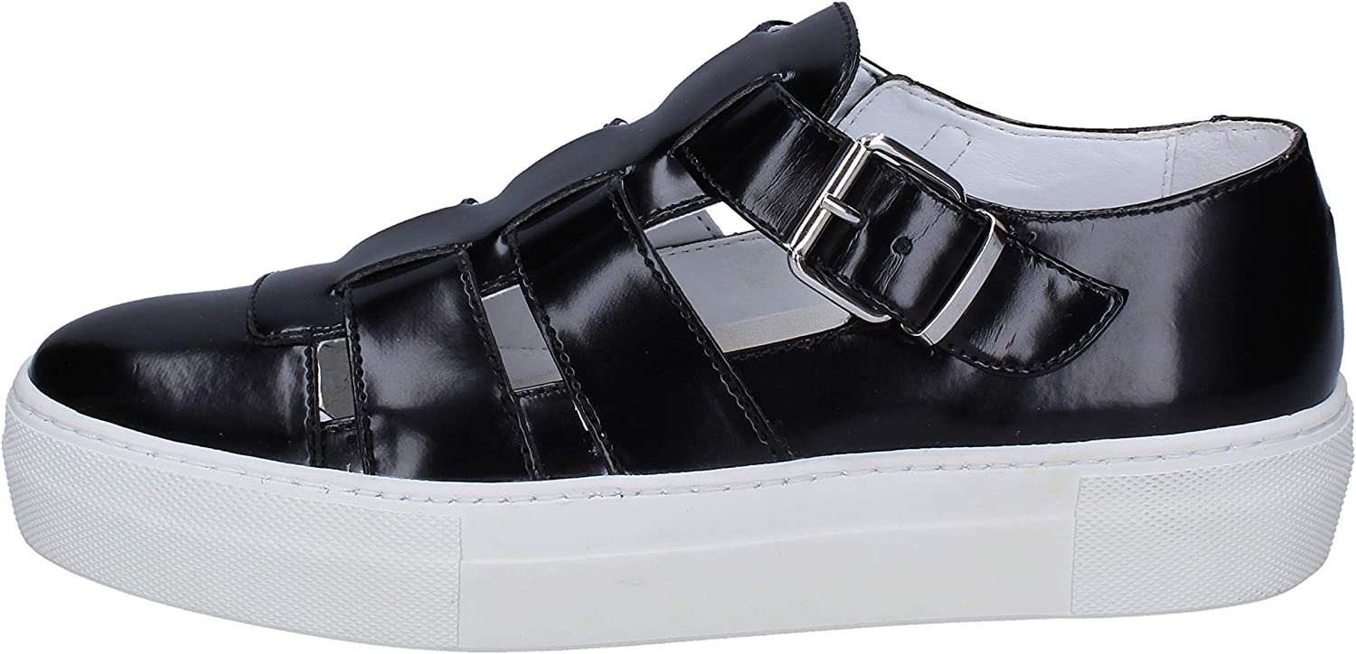 CULT Loafers-shoes Womens Leather Black