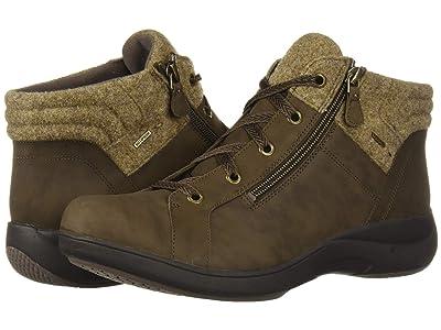 Aravon Rev Stridarc Waterproof Low Boot (Brown Nubuck) Women