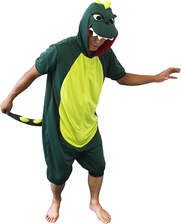 Sazac Dinosaur Kigurumi (Adults, Summer)